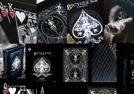 Bicycle Ghost (Melns)