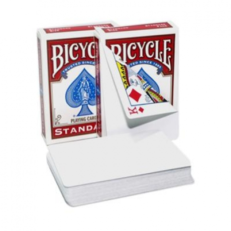 Bicycle Standard Blank Face