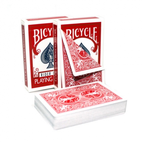 Bicycle Standard Double Back Red