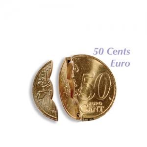 Bite vai Folding Coin 50 eiro centi (gimmick)